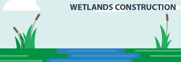 wetlands construction banner